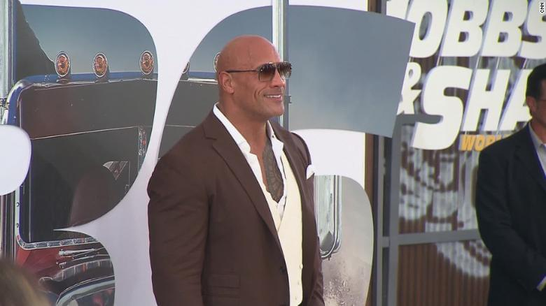 Dwayne 'The Rock' Johnson is launching a collection with Under Armour