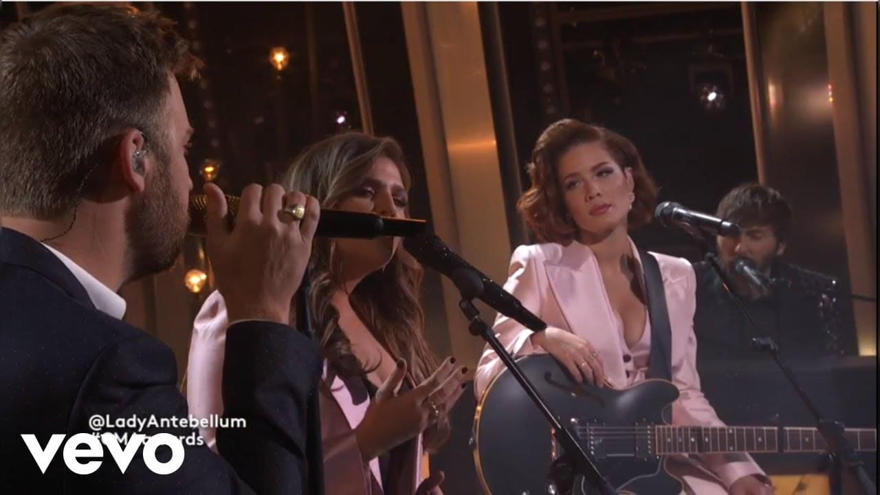 WATCH: Halsey Did A Country Crossover With Lady Antebellum