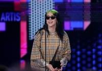 Billie Eilish Flourishes With Debut Performance of Bond Song 'No Time to Die' at 2020 Brit Awards