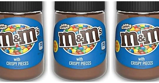 You Can Now Buy Jars Of Crispy M&Ms Chocolate Spread!
