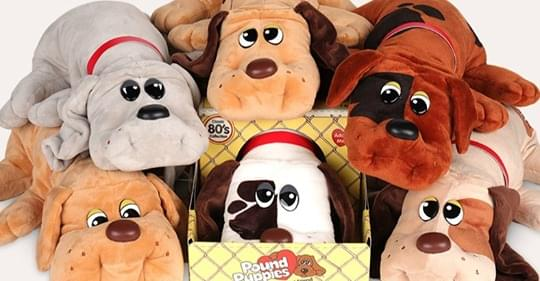 OMG!   Pound Puppies Are Making A Comeback!