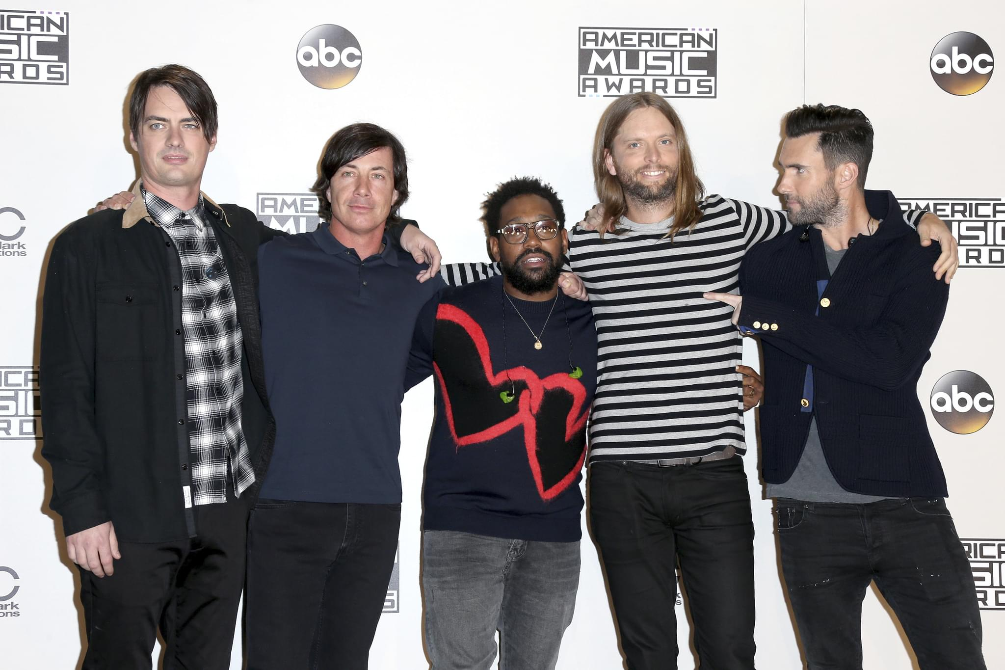 MAROON 5 bassist MICKEY MADDEN was Arrested for Alleged Domestic Violence