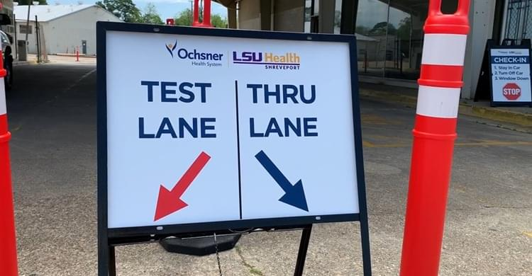 Free coronavirus testing is being offered this week at several locations in Shreveport and Natchitoches.