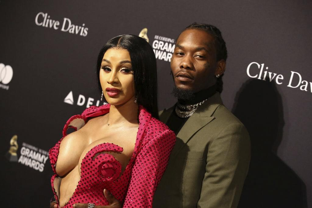 WATCH: Cardi B's Husband Offset Detained While Driving Through Trump Rally