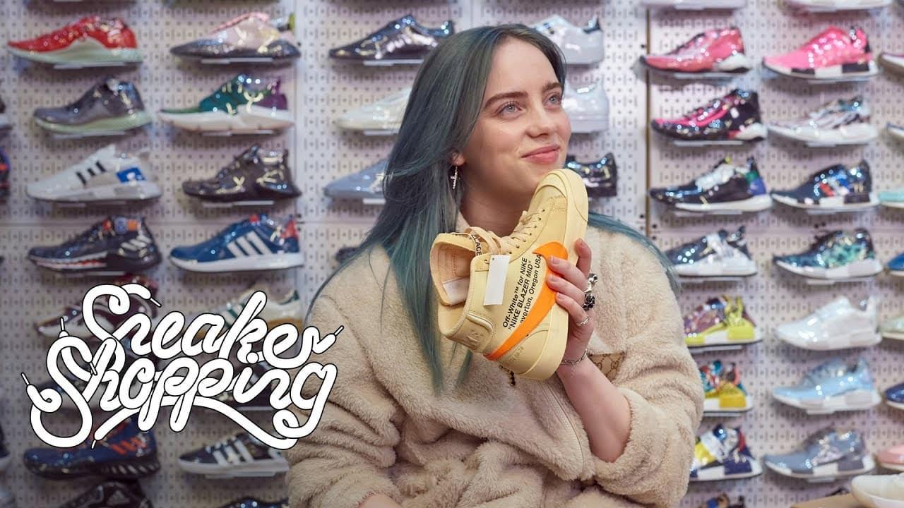 WATCH: Billie Eilish Went Shoe Shopping And Spent $2,388