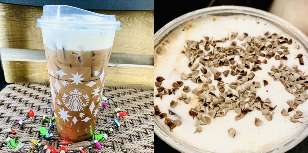 This Cold Brew From Starbucks Tastes Just Like An Andes Chocolate Mint And Is Ideal For Seasonal Sipping