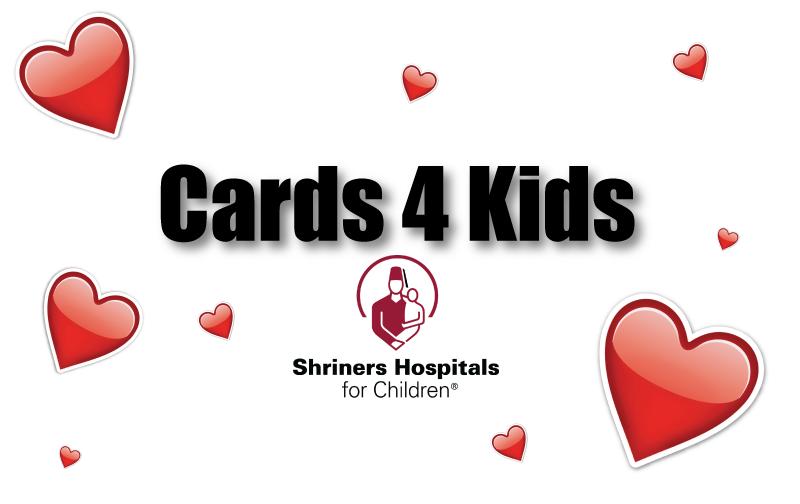 #ShreveportCards4Kids: Make Hand Made Valentine Cards For The Kids At Shriners Hospital for Children