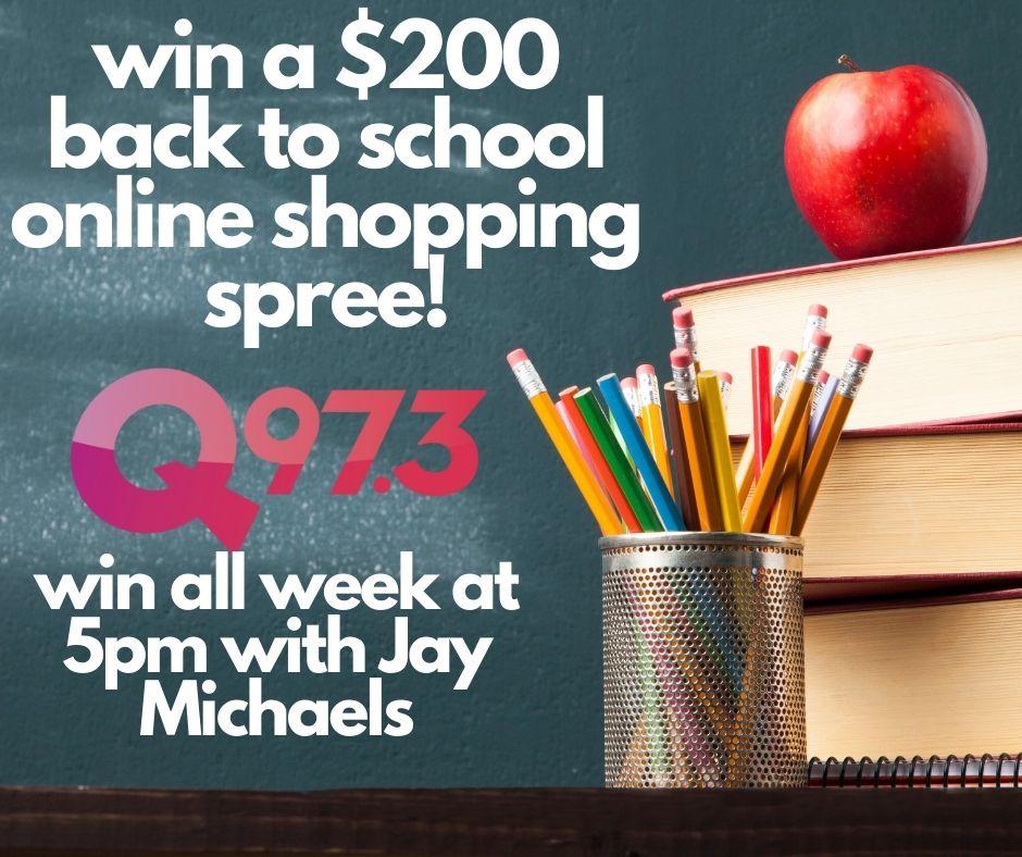 Win A $200 Back to School Online Shopping Spree!