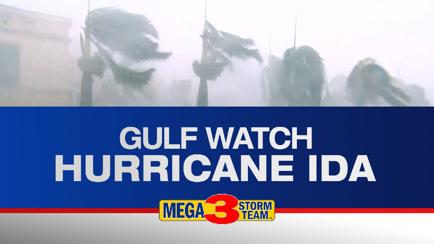 Our Partners At KTBS-3 Have The Latest On Hurricane Ida