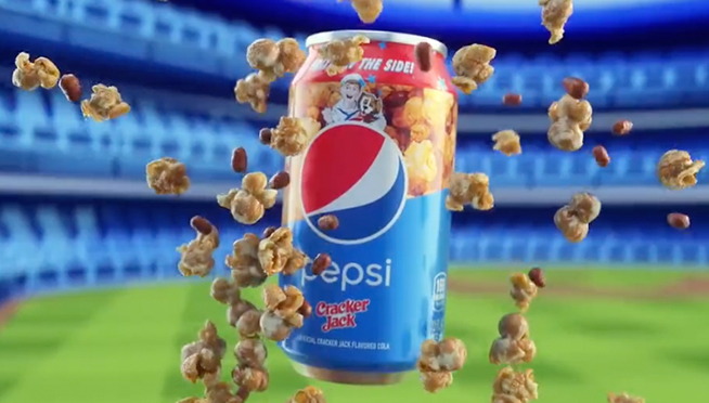 Cracker Jack Flavored Pepsi!