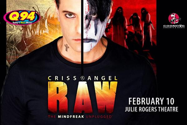 Criss Angel at the Julie Rogers