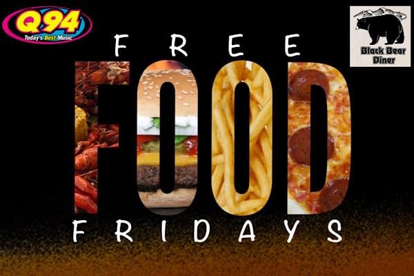 Free Food Friday!