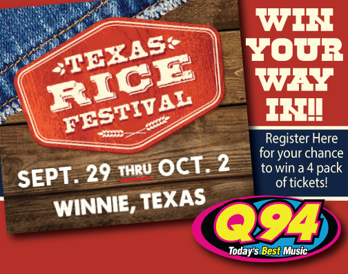 Register to WIN tickets to the Texas Rice Festival!