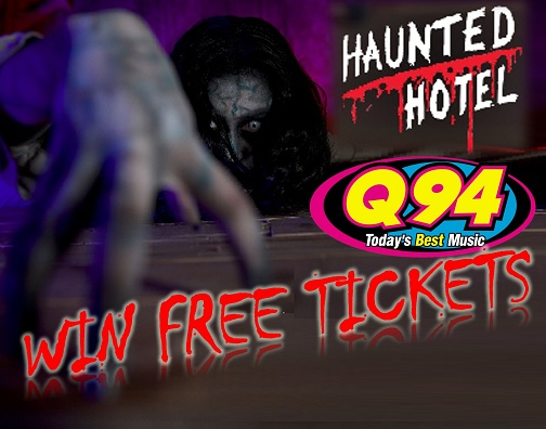 Win Free Gate Passes To The Haunted Hotel!