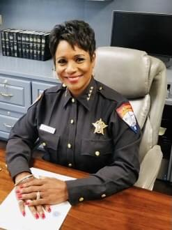 """Sherriff Stephens is Jefferson County's first female Major and Deputy Chief and the first black and first female Sheriff in Jefferson County.  She's also the First black female to become a Sheriff in Texas and is one of only two black female Sheriff's in the entire country. Sherriff Stephens began her career at the Beaumont Police Department in 1989 and in1996 she left the Beaumont Police department to work for the Jefferson County Sheriff's Office where she spent 11 of 17 years as the Deputy Chief, before leaving to accept a position as the first female Chief at Prairie View A & M University.   Zena is a dynamic leader who is passionate about changing the face of law enforcement by building relationships in the community. She has 27 years of experience including extensive experience in managing law enforcement agencies  She's earned many community awards in Jefferson County and has been recognized across the country for her law enforcement accomplishments. In 2006, she received the """"Remarkable Women"""" award from Theodore John's Library, in 2008 the Pioneering Women recognized her with the """"Changing the World One Cause at A Time """" award in 2011 the Beaumont Branch of the National Association of University Women gave her a """"Women of the Year Award"""" and this year we're naming her a Southeast Texas Black History Maker on Magic 102.5!"""