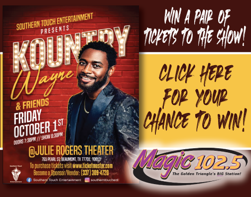 Enter for Your Chance to Win Tickets to see Kountry Wayne & Friends!