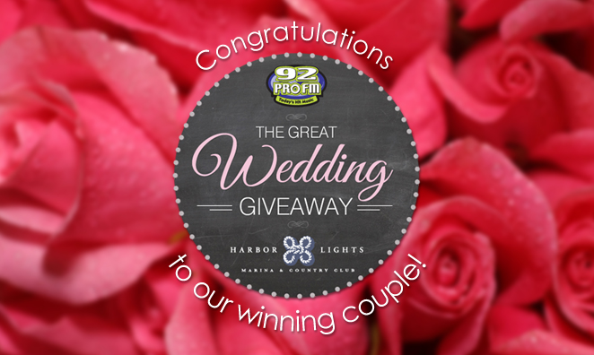Great Wedding Giveaway: Winning Couple Announced!