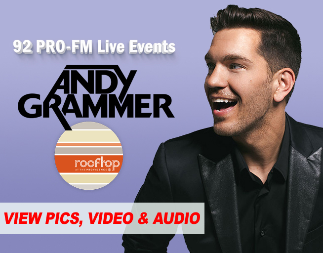 PICS & AUDIO: Andy Grammer Live in Providence