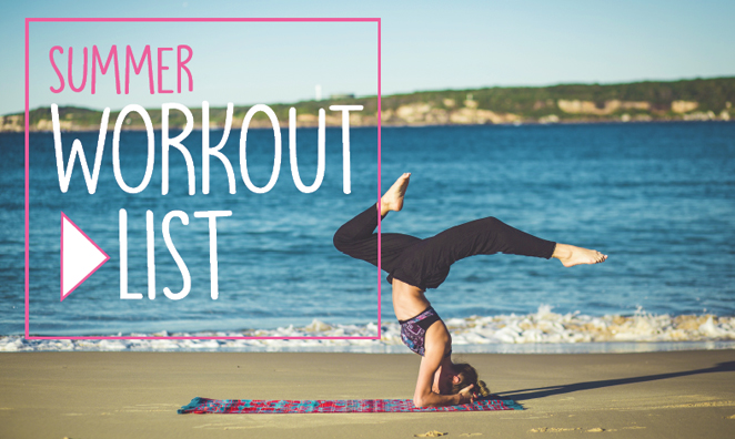 Jess's Summer Workout Playlist Hand-Picked to Get Your Blood Pumping