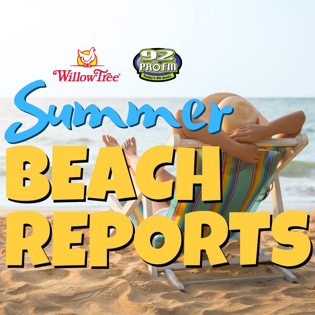 Summer Beach Reports