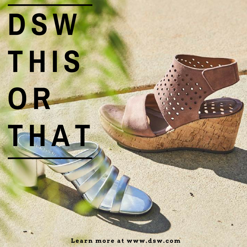 DSW THIS OR THAT!