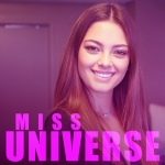 Miss Universe Demi-Leigh Nel-Peters with Barbi Jo – VIDEO