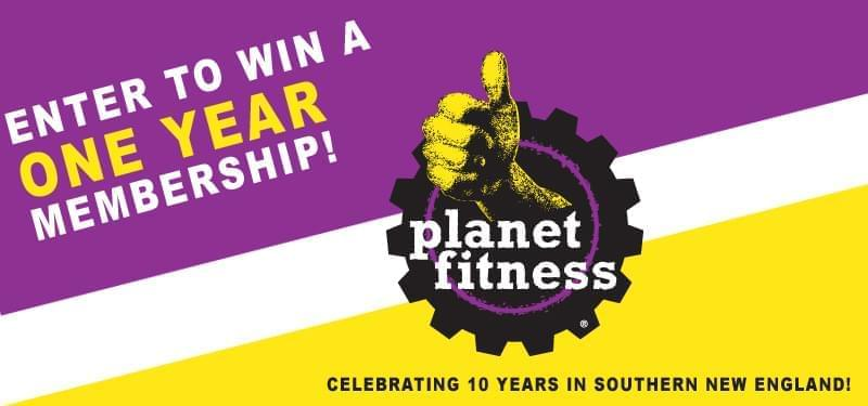 Enter to Win: One Year Membership from Planet Fitness