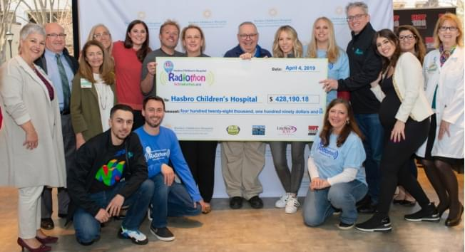 15th Annual Radiothon Raises Over $425,000 for Hasbro Children's Hospital