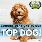 Congratulations to our Top Dog!