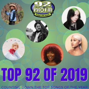 Top 92 of 2019