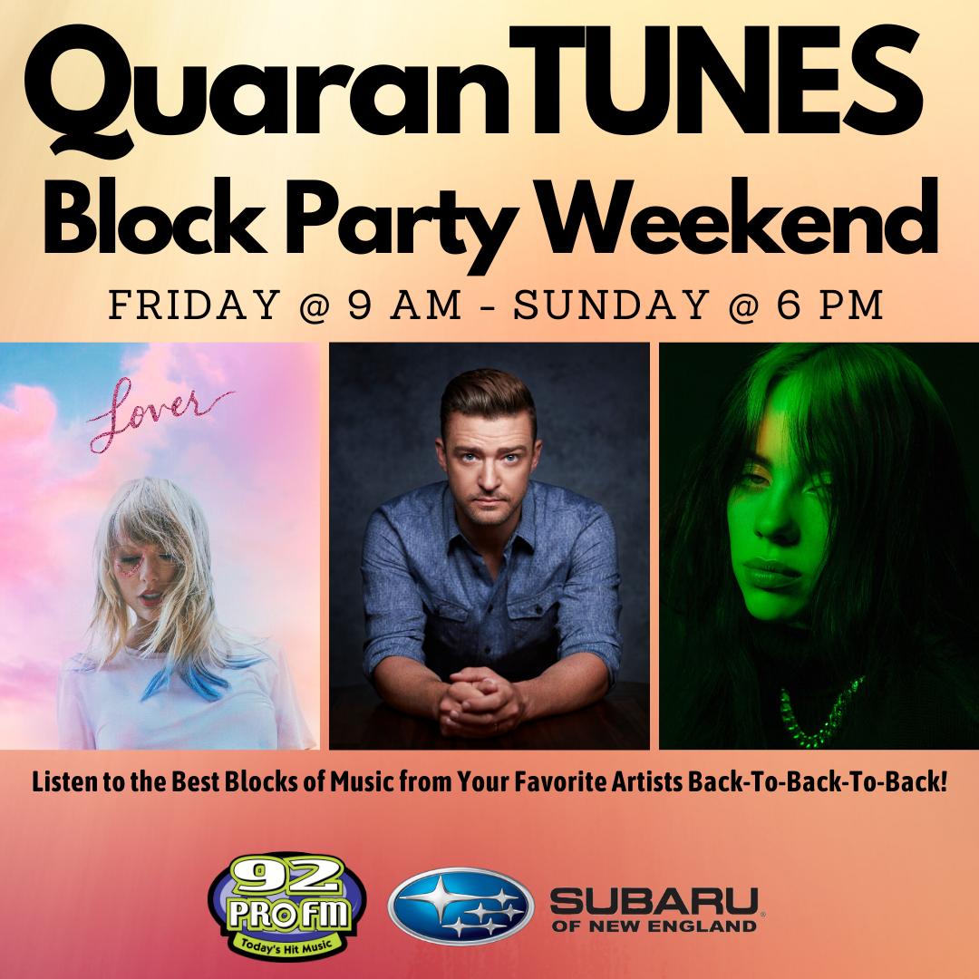 QuarenTUNES Block Party Weekend!