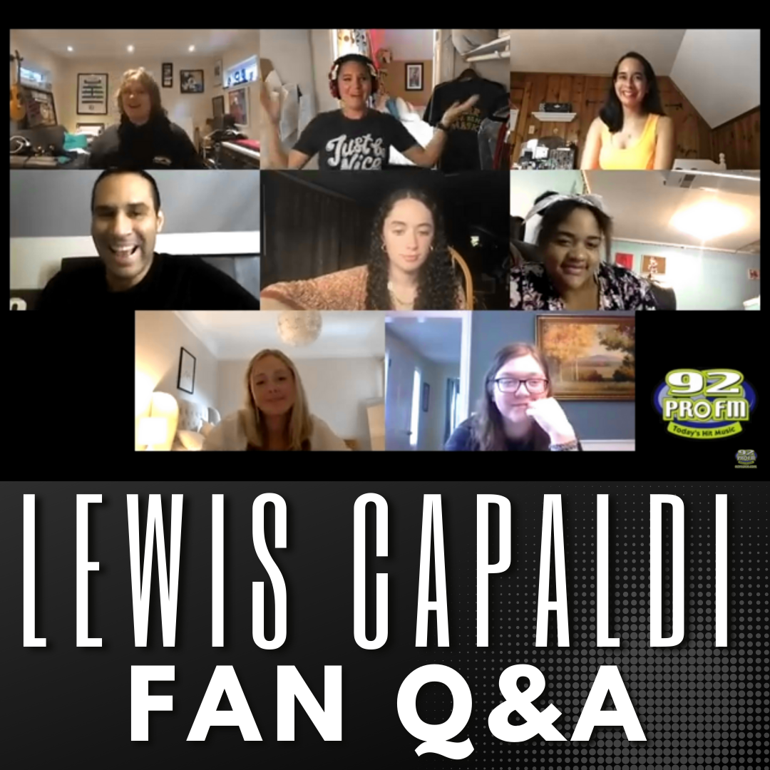 Lewis Capaldi – Questions from the Fans!