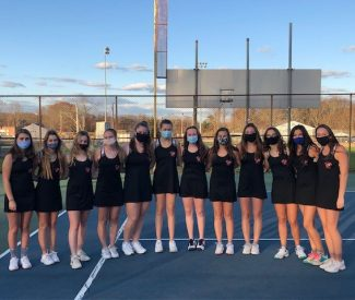 narragansett girls varisty tennis 11.23