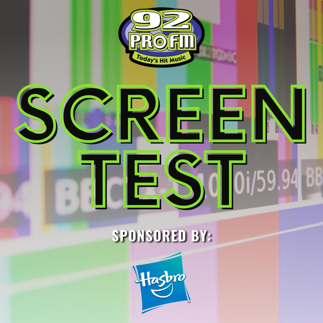 Screen Test: Win Hasbro Toy Packs