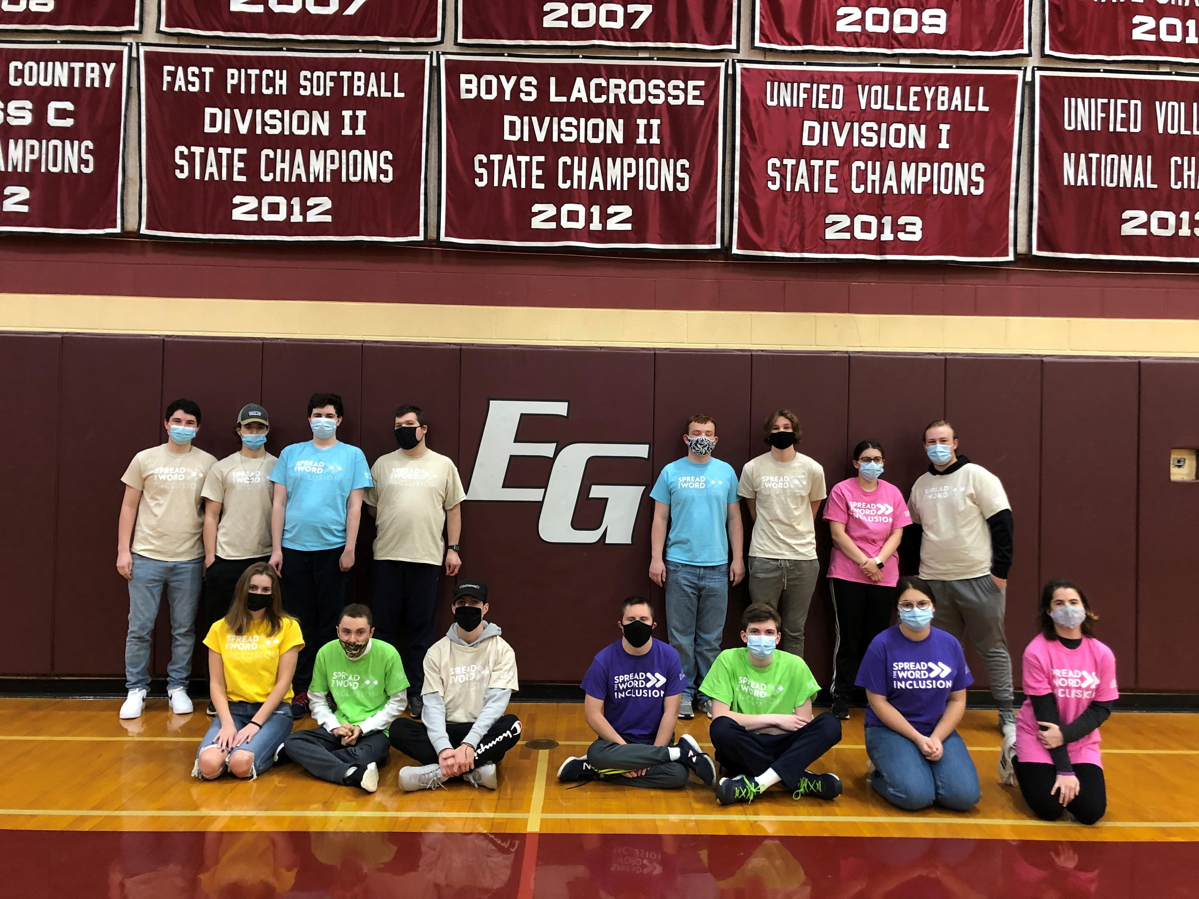 East Greenwich High School Unified Volleyball Team