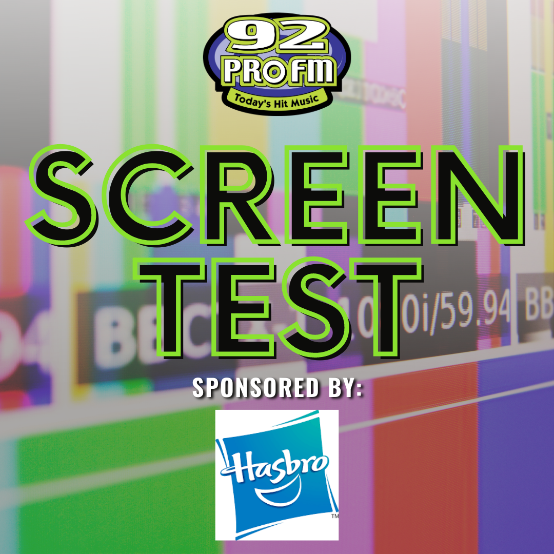Win Hasbro Toy Packs with Screen Test