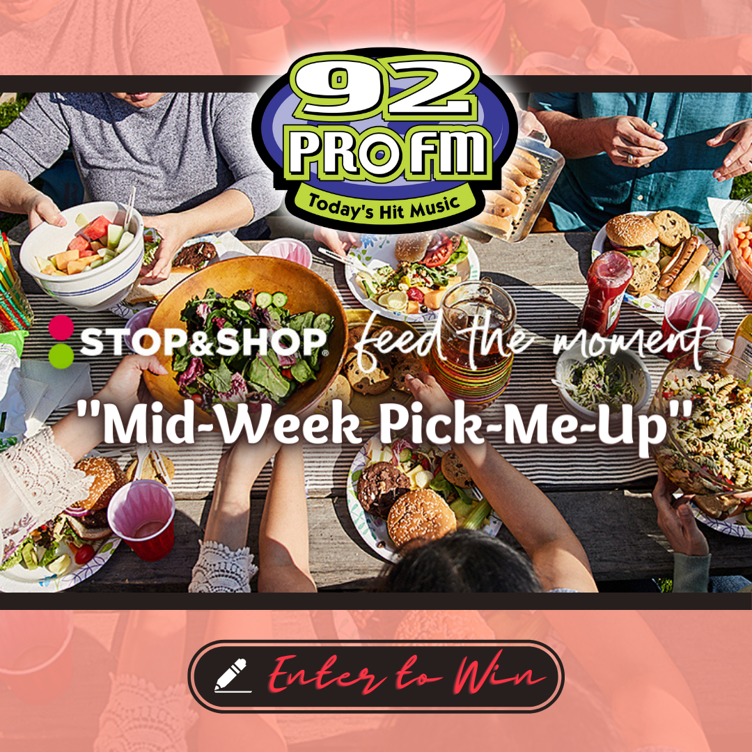 92 PRO-FM & Stop & Shop's Feed the Moment