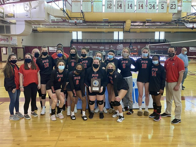 Providence Country Day Girls Volleyball Team