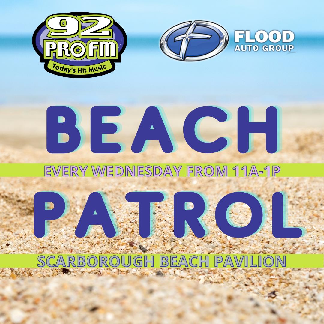 92 PRO-FM Beach Patrol: Part of the Flood Auto Group 92 Days of Summer