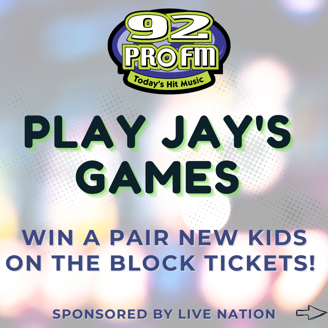 Jay's Games: Win New Kids on the Block Tickets, plus, a Grand Prize Meet & Greet