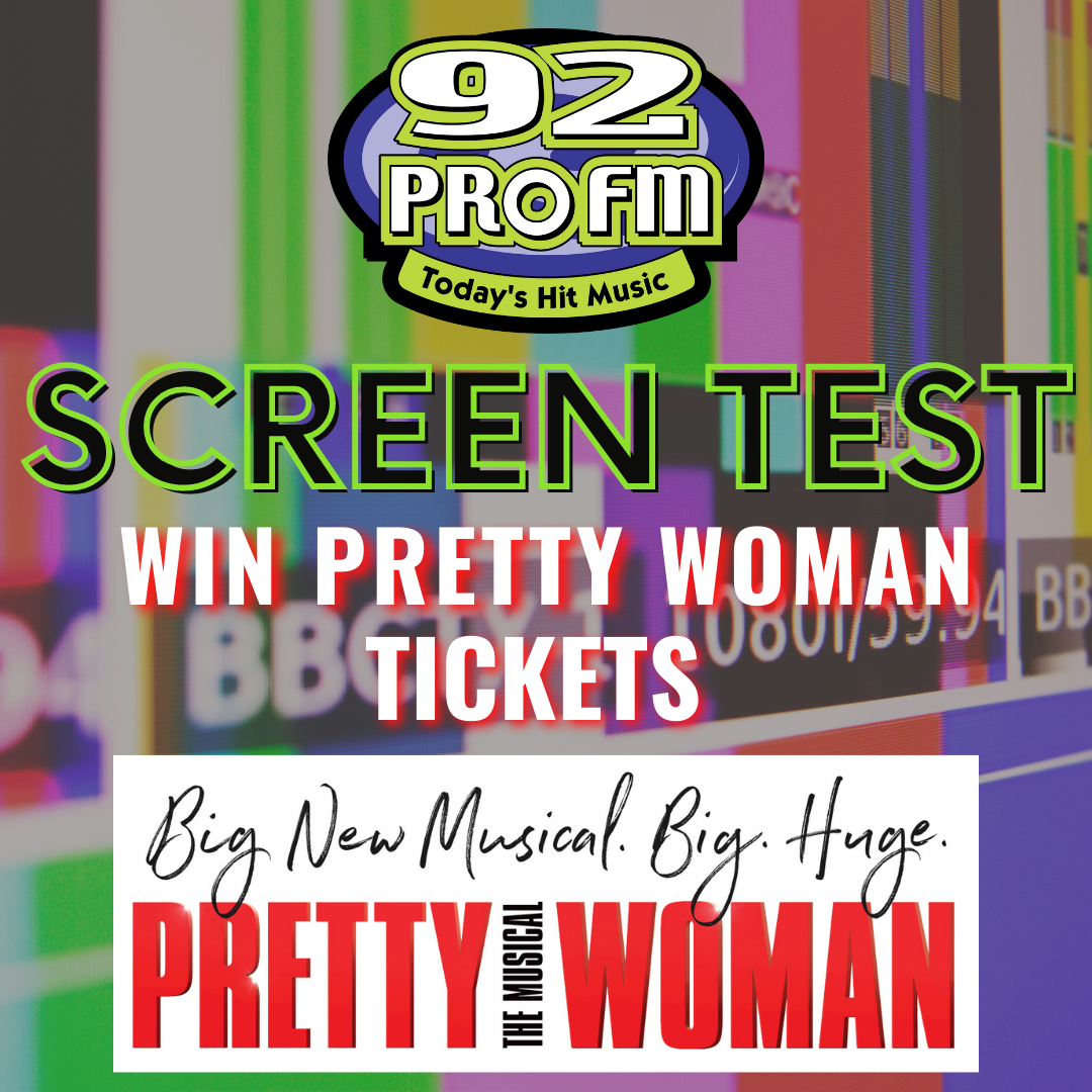 Play Screen Test to win Pretty Woman: The Musical Tickets!