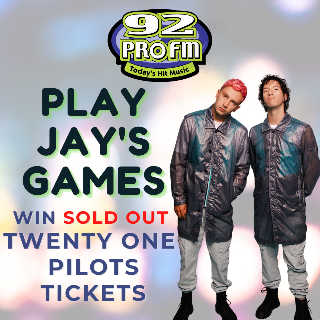 Win Twenty One Pilots Tickets with Jay's Games!