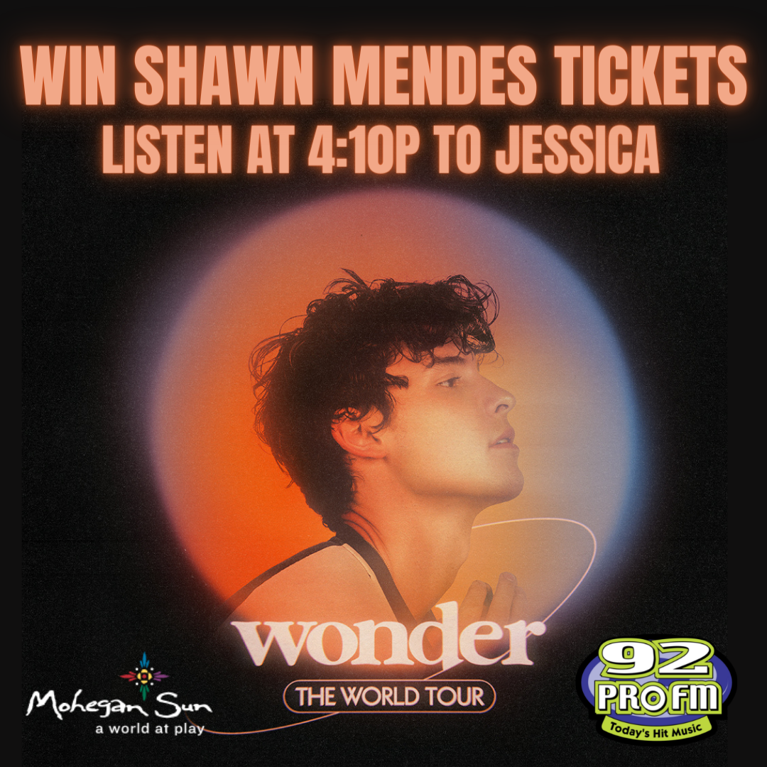 Win Shawn Mendes tickets with Jessica at 4:10p