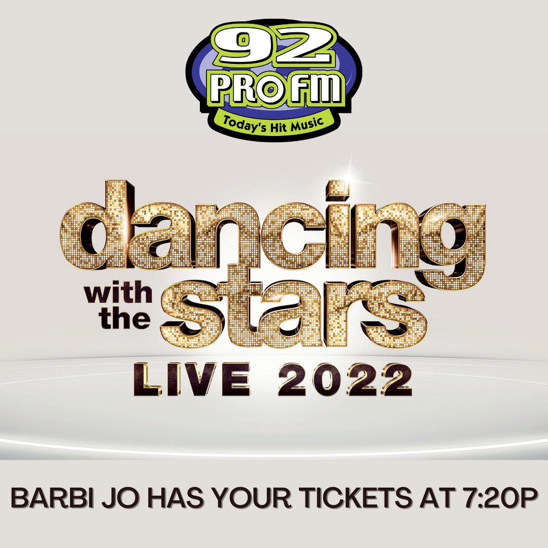 Win Dancing with the Stars tickets with Barbi Jo!