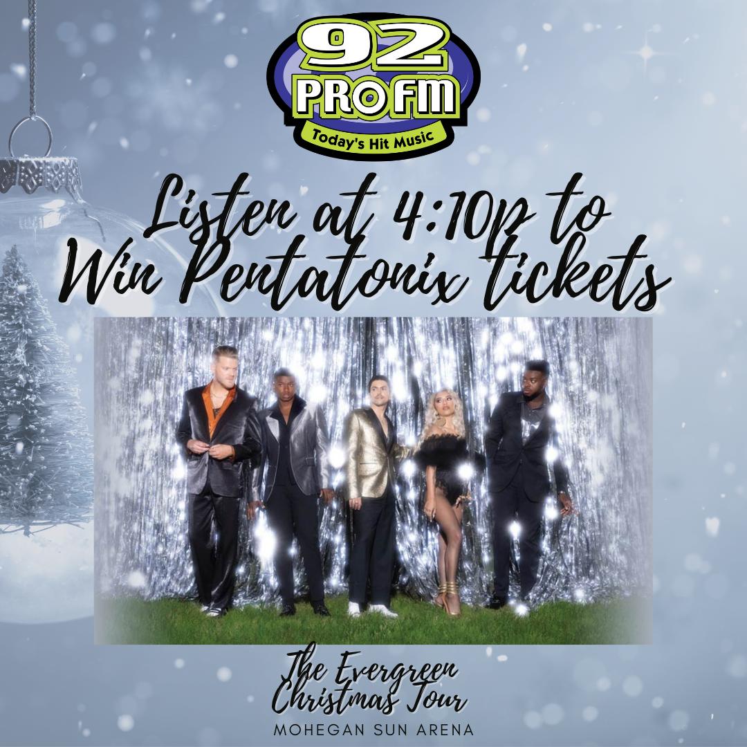 Win Pentatonix Tickets with Jess at 4:10p