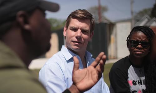 Swalwell: I May Be 'Another White Guy' But 'I Know When To Pass The Mic'