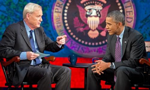 Chris Matthews Still 'Thrilled' About Obama