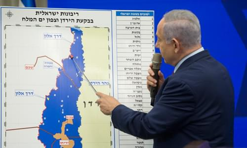 Netanyahu Pledges To Annex Entire Jordan Valley With Support Of US If He Wins Israeli Election
