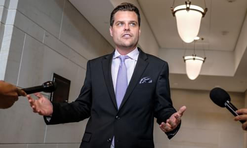 'I Have To Fact Check You In Real Time': Matt Gaetz Scolds MSNBC's Hallie Jackson