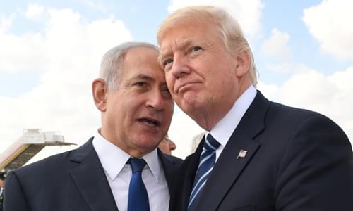 Netanyahu: Israel's Blue and White Party Only Pretends to Support Trump Peace Plan